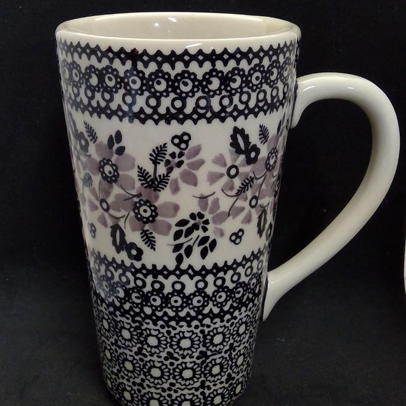 Polish Pottery Other - Unikat Handmade Poland Pottery Latte Cup Signed
